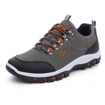Men Hiking Shoes Trekking Sneakers Man Fishing Camping Shoes Hunting Boots 1