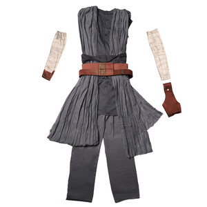 Image 5 - Star Rey War Cosplay Costume Kids Jedi Warrior Obi Wan Kenobi Black Soldiers Storm Troopers The Force Awakens Girls Fancy Dress