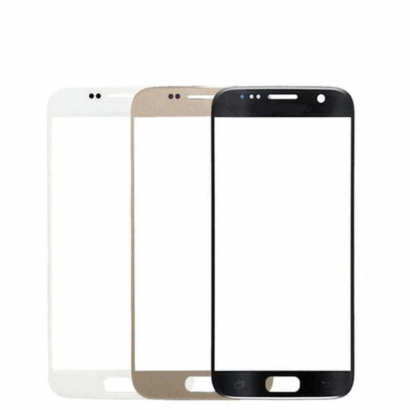 Dokunmatik ekran Samsung Galaxy S7 G930F G930FD dokunmatik Panel 5.1 ''lcd ekran ön kapak cam telefon yedek parçaları değiştirin
