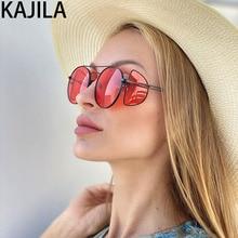 Steampunk Sunglasses Women 2020 Retro Trending Four Mirror Eyewear Punk Ladies Shades Sun Glasses For Women lentes de sol mujer