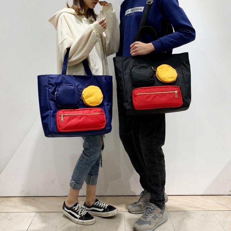 Fashion Smile Face Travel Sport Handbag Waterproof Gym Bag Men Women Yoga Duffle Bag Big Capacity Shopping Weekend Luggage Bag