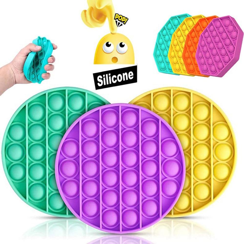 Antistress-Toys Fidget-Sensory-Toy Bubble-Fidget Pops Carrot Adult Kids 1pc Autism New