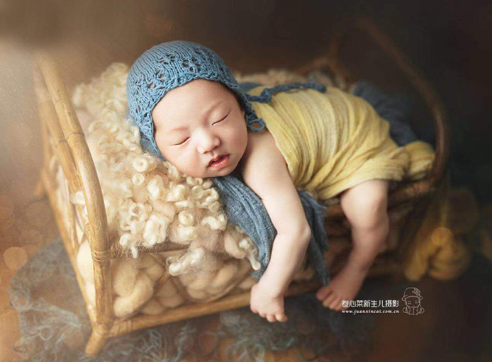Newborn Photography Props Baby Vintage Woven Basket Photo Shooting Infant Props Container Baby Photography Props Girl Fotografia