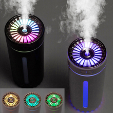 Air Humidifier Ultrasonic Aroma Essential Oil Diffuser 300ml USB Cool Mist Maker Humidifiers with Colorful Lamp for Home Car