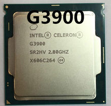 Intel Celeron G3900 g3900 Processor 2MB Cache 2.80GHz LGA1151 Dual Core Desktop CPU kan werken(China)