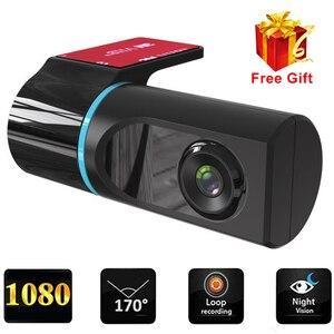 1080P ADAS Dash Cam Car DVR Camera Recorder Dash Camera Recorder For Android Car Radio USB Support TF Card Motion Detection