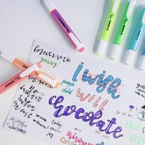 Image 4 - 8Pcs Deutsch STABILO KÜHLE farbe highlighter 275 tragbare nette student büro marker marker ist nicht leicht zu trocknen