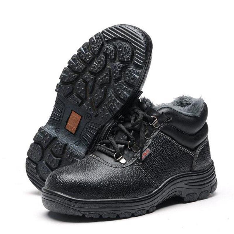 Uomini Stivali da Lavoro Puntale in Acciaio Scarpe da Uomo Scarpe Scarpe di Sicurezza Sul Lavoro di Puntura Prova per Gli Uomini Scarpe da Ginnastica Casual Scarpe Maschili 2019 - 3