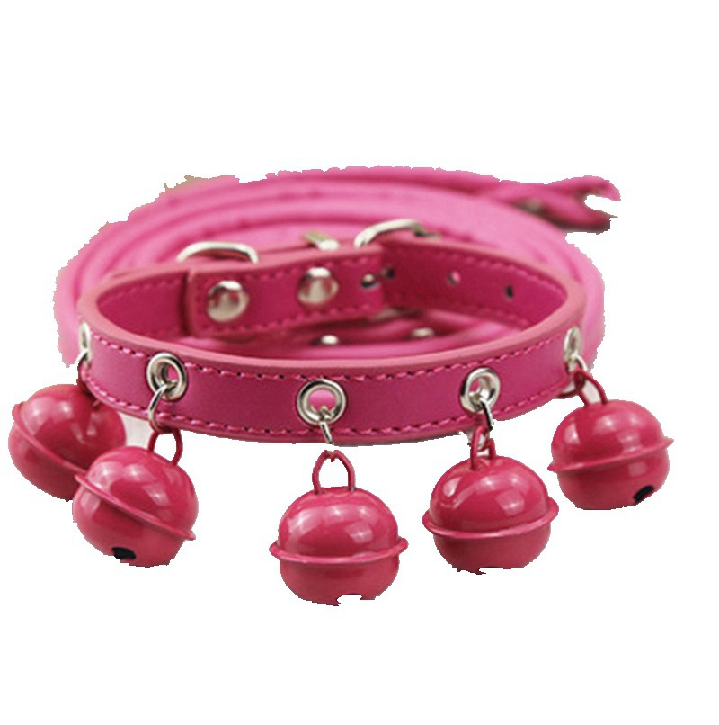 Pet Traction Supplies Dog Bell Neck Ring Tractor Pet Collar Cat Neck Ring Tractor