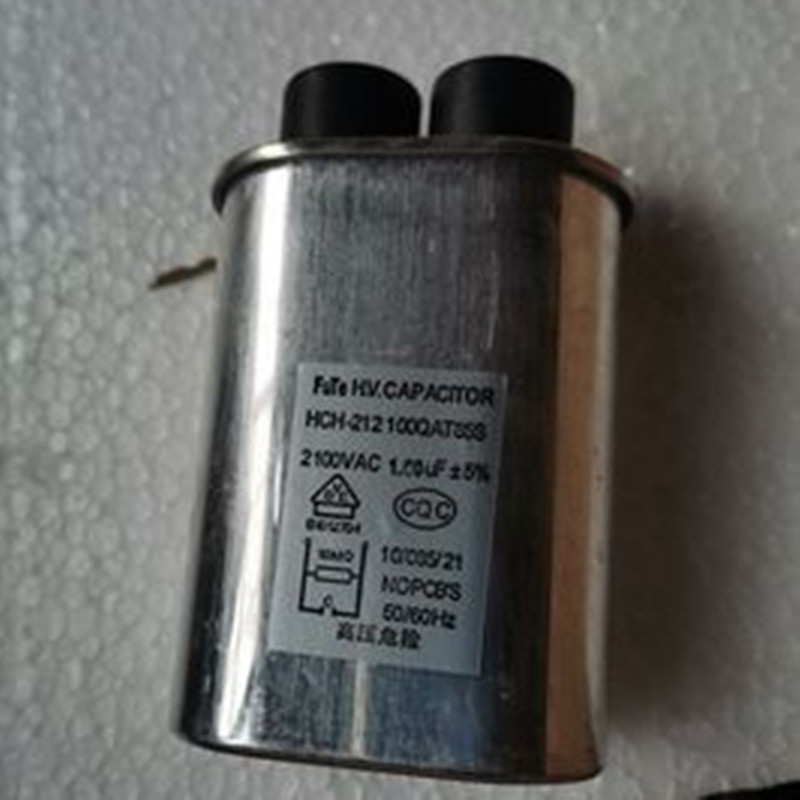 Microwave oven high voltage capacitor 1.0UF accessories original ordinary high voltage capacitor 1.0UF