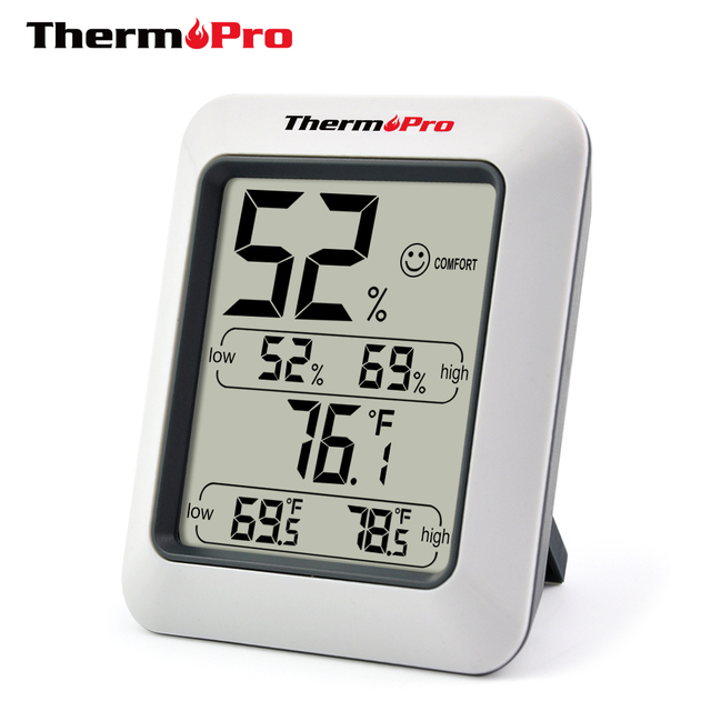 Thermopro TP50 High Accuracy Digital Hygrometer Thermometer Indoor Electronic Temperature Humidity Hygrometer Weather Station