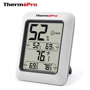 Image 1 - Thermopro TP50 גבוהה דיוק דיגיטלי מדדי לחות מדחום מקורה אלקטרוני טמפרטורת לחות מד לחות תחנת מזג אוויר
