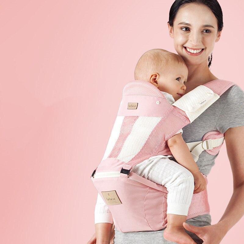 Bebear Baby Carrier TZ02 Infant Comfortable Sling Backpack Hip Seat Baby Wrap Carrier Ergonomic Baby Belt