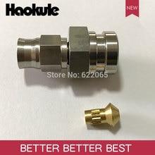 Haokule розетка из нержавеющей стали с перевернутым концом шланга М10*1,0 до м3