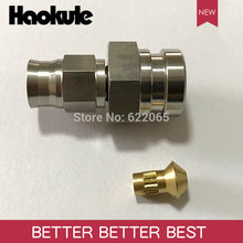 Haokule נירוסטה נקבה הפוך התלקחות צינור סוף M10 * 1.0 כדי AN3 טפלון PTFE צינור END בלם מערכת אבזרי