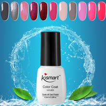 Good Quality Nail Gel Kismart UV/LED Polish Soak Off Lacquer Glitter Base Top Coat Art Varnish