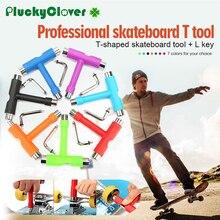 1 шт. Многофункциональный скейтборд т инструмент L ключ Лонгборд инструменты для скутера все-в-одном Скейт инструмент скейтборд гайки ключ для настройки гитары гаечные ключи