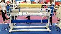 Широкоформатная машина для холодного ламинирования для рекламы баннер стикер ПВХ с воздушным цилиндром 63 дюймов пленка Авто ламинатор