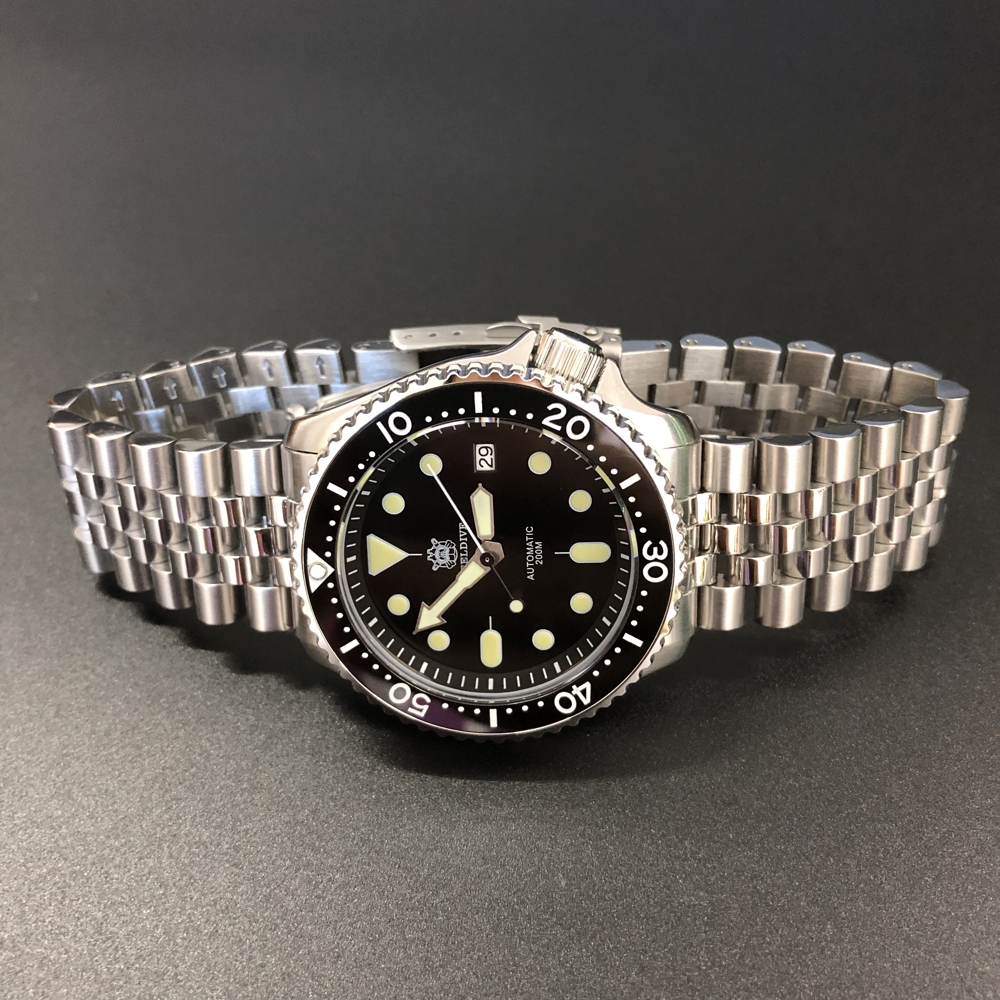 STEELDIVE 1996 Japan First 007 Watch Automatic 316L Stainless Steel Dive Watch 200m Mechanical Ceramic Bezel Diving Watches Mens(China)