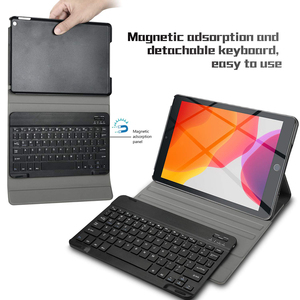Image 2 - Bluetooth Keyboard For iPad 2019 10.2 inch Case with Touchpad Keyboard Detachable For iPad 7th Generation Keyboard Pencil Holder