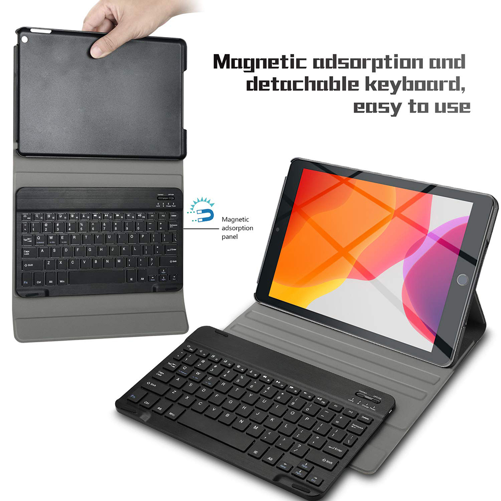 Image 4 - Tablet Keyboard For Apple iPad 7th Gen 10.2 2019 Tablet Case USA