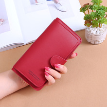 Women Wallets Fashion Ladies High Quality PU Leather Long Money Bag Zipper Coin Purse Cards ID Holder Clutch Woman Wallet Burse 3 fold pu leather women wallet clutch famous brand design ladies purse card phone holder notecase clutch long burse coin pocket