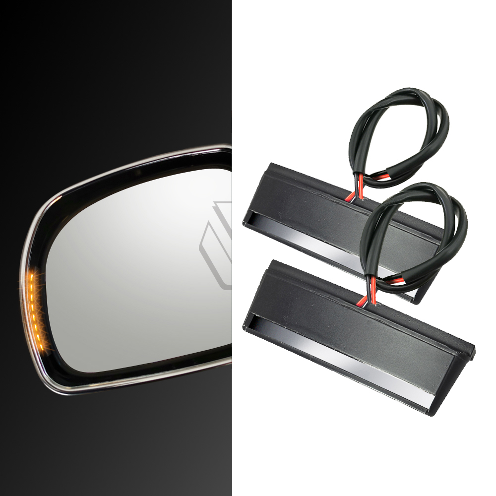 Motorcycle LED Mirror Light Turn Signal Case for <font><b>Honda</b></font> <font><b>Gold</b></font> <font><b>Wing</b></font> GL1800 ABS <font><b>GL</b></font> <font><b>1800</b></font> 2001-2017 image