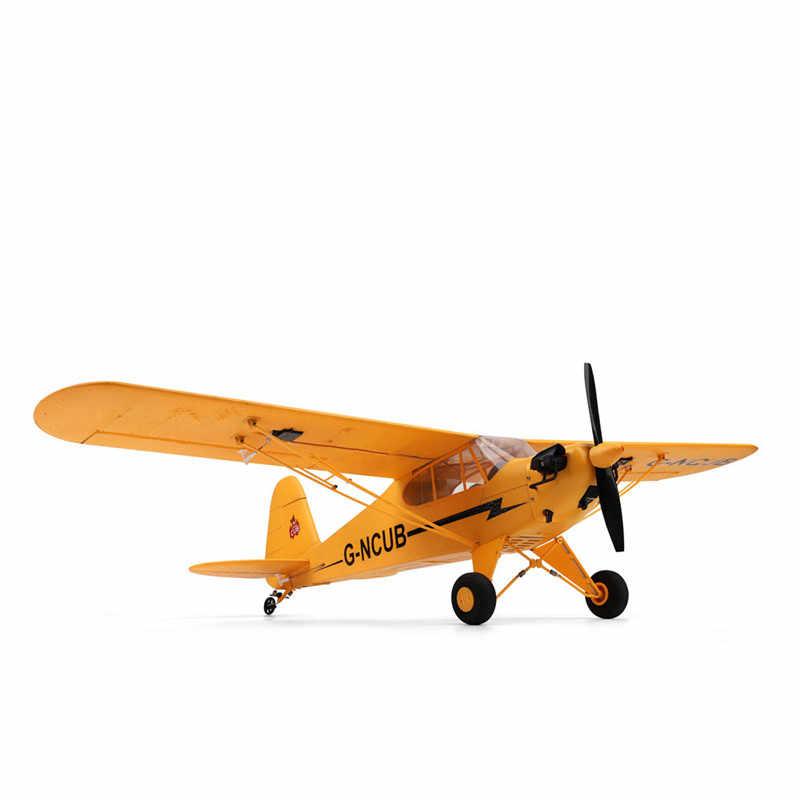 XK A160 RTF EPP RC Drone Remote Dikendalikan Radio Pesawat Model Pesawat RC Busa Air Mainan Pesawat 3D/6G Sistem 650Mm Lebar Sayap Kit