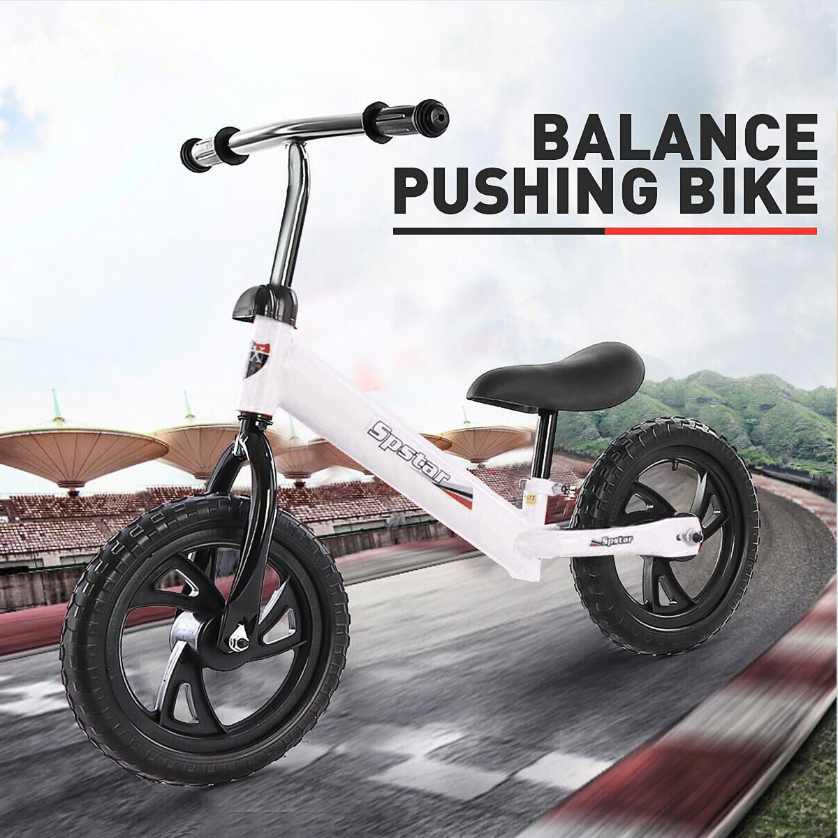 Balance Bike Bicycle Model Outdoor Toys For 2-6 Years Old Children Two Wheel Scooter No Foot Pedal Kids Push Educational Sport