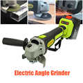 Angle Grinder elettrico Cordless Batteria di Grande Capacità Lucidatrice Lucidatura Macchina Per La Frantumazione di Legno In Metallo Set di Utensili da Taglio 128 V/228 V