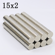 200Pcs 15x2 Neodymium Magnet…