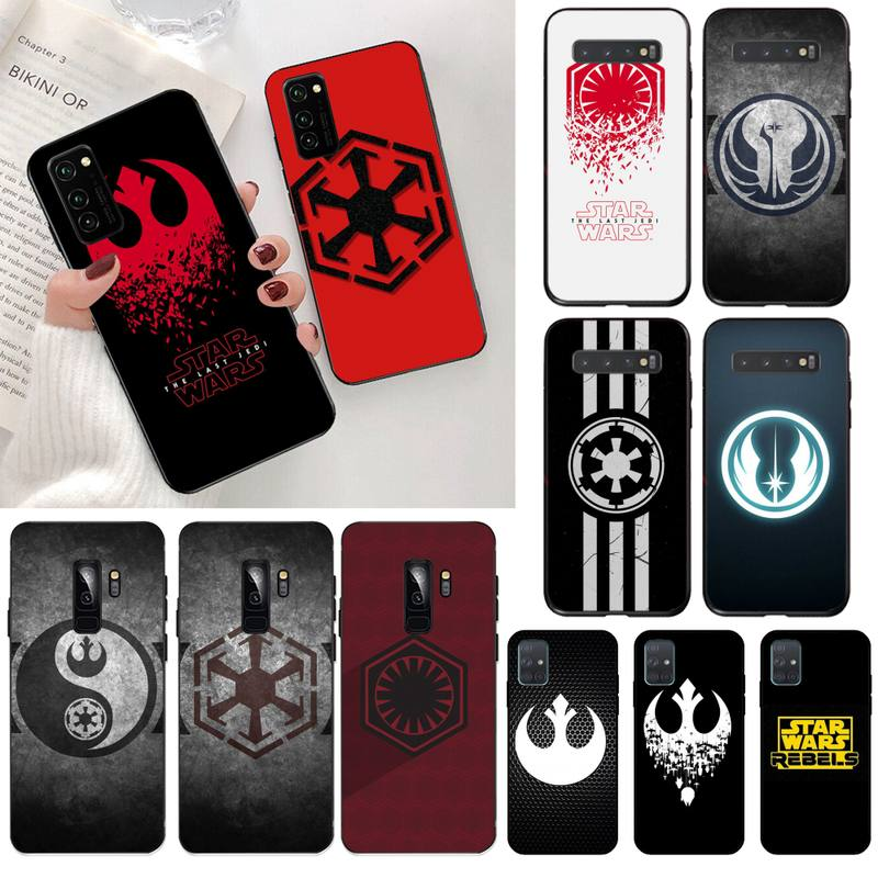 HPCHCJHM Star War Rebel Logo Black TPU Soft Phone Case Cover for Samsung S20 plus Ultra