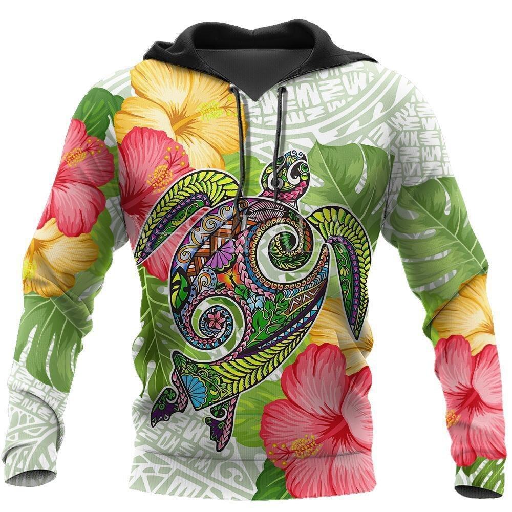 Caer en la ola de la Polinesia 3D impresión Sudadera con capucha hombre Harajuku prendas de vestir cremallera Jersey sudadera Unisex Casual chaqueta chándal