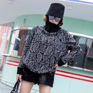 Image 5 - Max LuLu 2019, модная Корейская зимняя одежда, женские свободные топы, футболки, женские трикотажные футболки с принтом, повседневная водолазка, теплая одежда