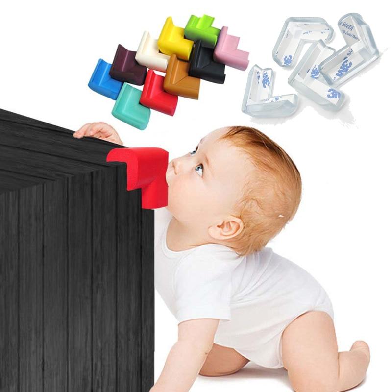 Baby Safety Silicone Corner Protector Table Corner Edge Protection Cover Children Anticollision Edge &child Safety Corner Guards