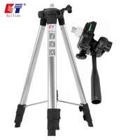 KaiTian Tripod for Laser Level Adjustable Height Thicken Aluminum 1.5M 5/8 Inch Tripod Stand For Self Leveling Line Level Lasers|Laser Levels| |  -