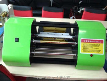 2019 new China factory outlet 320 automatic hot foil printing grosgrain satin ribbon printer