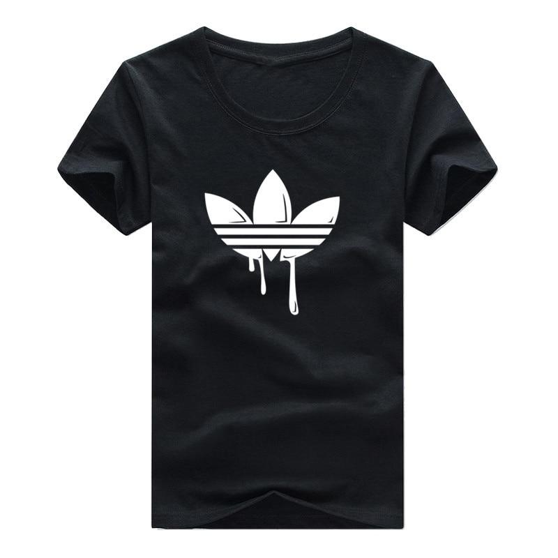 Новинка 2019, модная футболка, короткий рукав, мужская, черная и белая, 100% хлопок, топы, футболки, уличная, хип-хоп, Мужская футболка