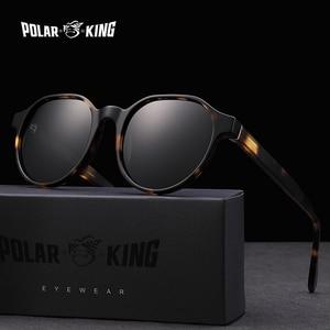 Image 1 - Polarking New Acetate Polarized Sunglasses Brand Vintage Style Men Sun Glasses Handmade For Male Uv400 Protection Shades