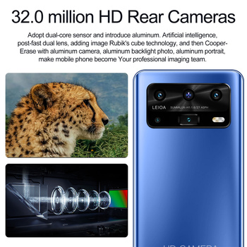"""Smartphone Android X3 12GB 512GB Celulares Octa Core HD Camera 7.2""""  Telephone 5800mAh Global Version 4G 5G Mobile Cell phones 4"""