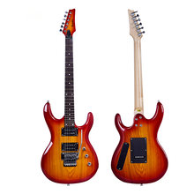 Горячая Распродажа 39 дюймов электрическая гитара double rock