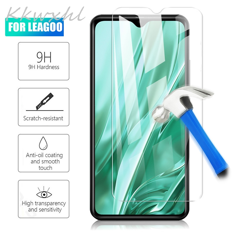 2PCS 9H Tempered Glass For Leagoo M9 Pro M11 M12 M13 S9 S11 KIICAA MIX Power 2 Pro GLASS Protective Film  Screen Protector Cover