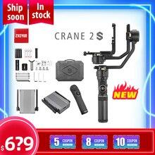 Zhiyun Crane 2S 3 eje de cardán estabilizador de Bluetooth 5,0 para Canon Nikon DSLR Cámara Crane2S VS DJI Ronin S aircross
