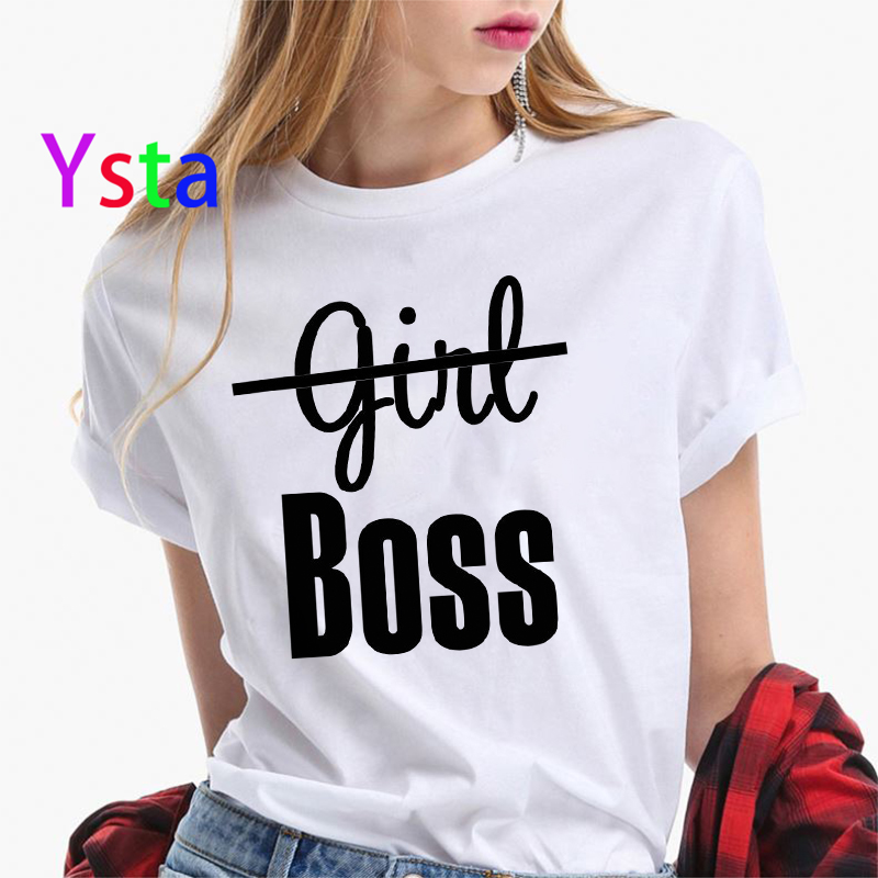 Boss creative Letter print t shirt women Sexy lips Mperial crown Colorful Letters Top Tees Korea style Fashion clothing female 2
