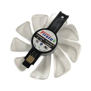 Ventilateur refroidisseur GPU, 590/580/570/VEGA, 100MM, FD10015M12D, pour cartes de refroidissement, pour Sapphire RXVE, GARX480, RX590, RX580, RX570, NITRO VGA