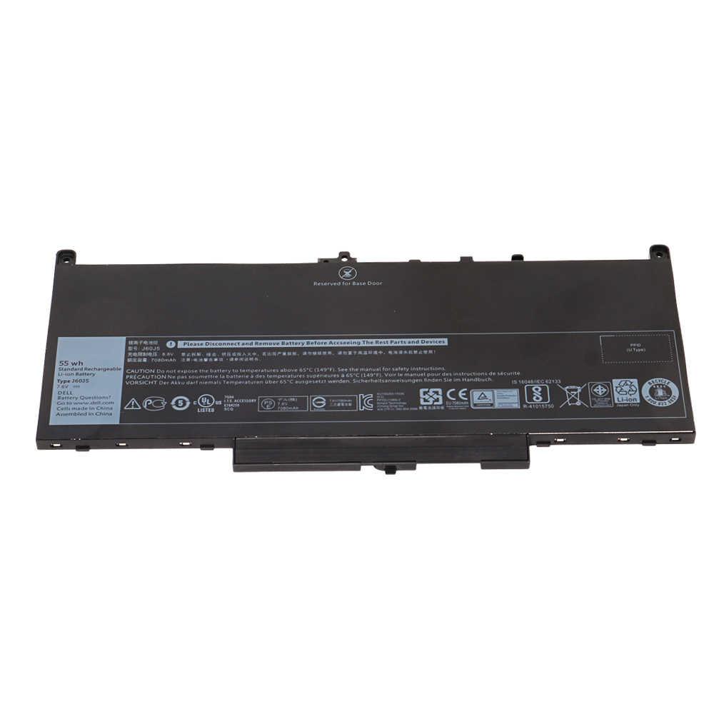 Nuovo J60J5 MC34Y 0MC34Y J60J5 Batteria Del Computer Portatile Per Dell Latitude E7270 E7470 E7260 Batteria 7.6V 55WH 7080mAh