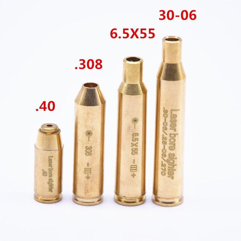 Охотничий красный лазерный бокс (без батарей) CAL.308 .40.6.5 x55,Cal.30-06 картридж тактический прицел