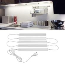 Barre de LED profil de lumière 6W 10W T5 lampe Tube LED armoires de cuisine lumière Aluminium 29cm 57cm LED bande rigide Tubes LED déconomie dénergie