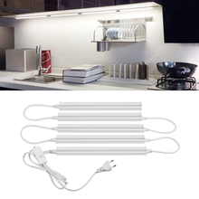 LED Barโปรไฟล์แสง6W 10W T5 LEDหลอดไฟครัวตู้อลูมิเนียม29ซม.57ซม.ไฟLED StripประหยัดพลังงานLEDหลอด
