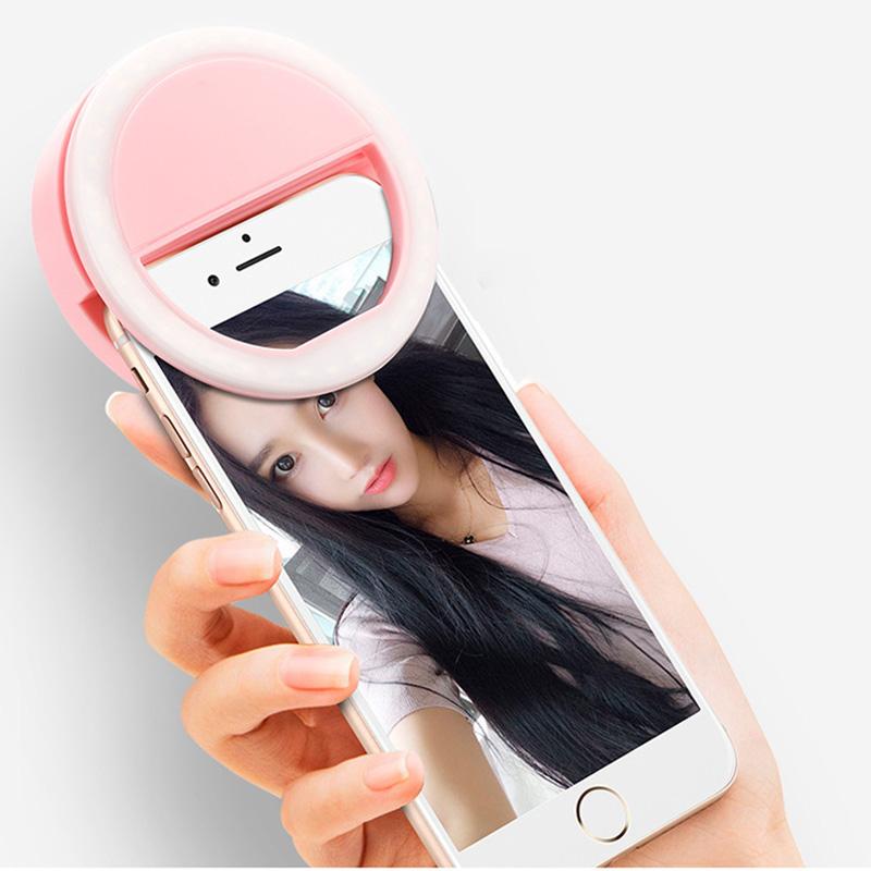 Hf3a6eee7f1264f9e98c461b4bfd3fb27M - Selfie LED Ring Fill Light Portable Mobile Phone 36 LEDS Selfie Lamp 3 levels Lighting Luminous Ring Clip For All Cell Phones